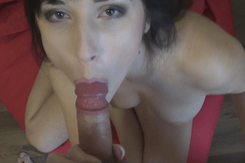 Amateur Schlampe beim Blowjob Sex mit einem Freund