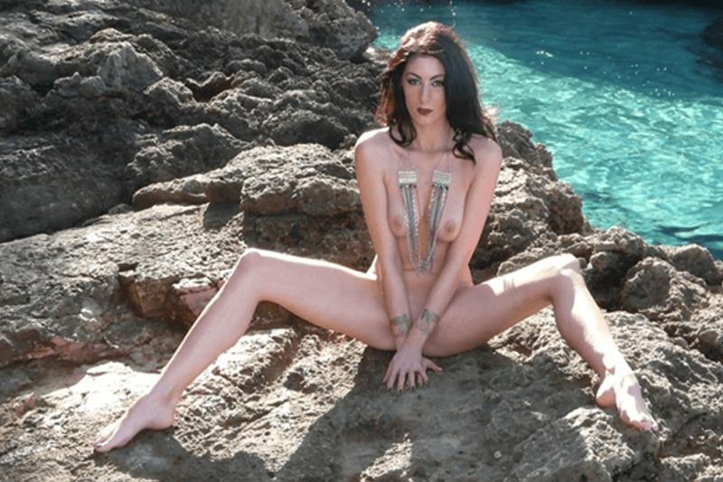 Privates Urlaubsfoto einer sexy Frau aus der Erotik Sex Community